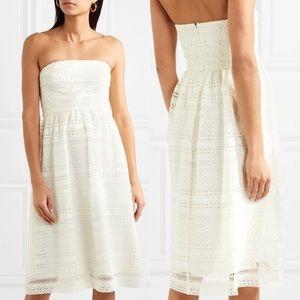 Collection J. Crew • NWT White Lace Midi Dress